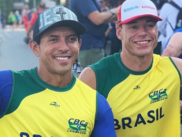 Brasil garante 2 medalhas no Mundial de paracanoagem