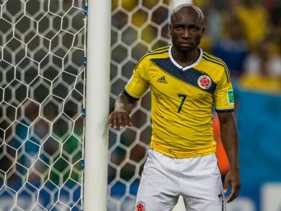 Re: CSA anuncia contratação de colombiano Pablo Armero