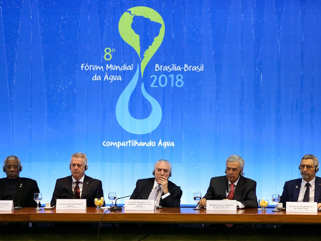 World Forum in Brasilia to Recognize Water as Fundamental Right