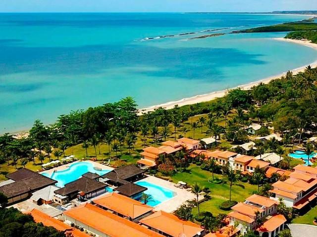 Santa Cruz Cabrália All-Inclusive! Pacotes com voos mais hospedagem no Vila Angatu Eco Resort a partir de R$ 1.153, em 10x sem juros!