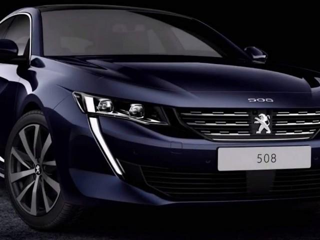 Peugeot 508 2019: fotos externas e internas divulgadas