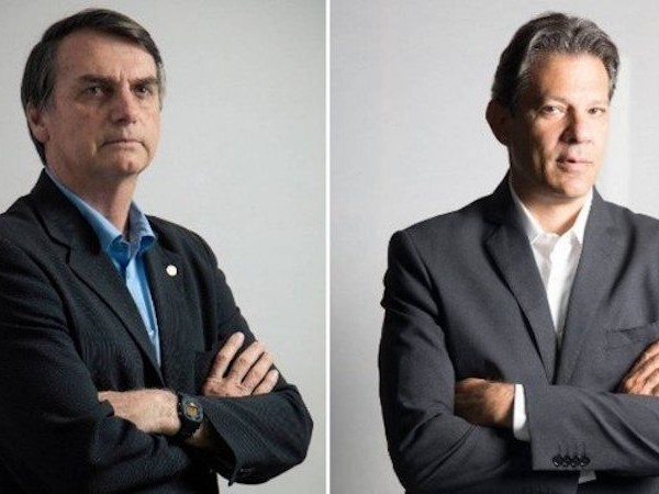 Bolsonaro Maintains Wide Lead Over Haddad in Latest Poll, 59% to 41%