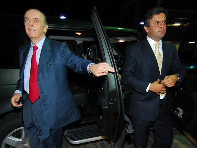 "Serra pediu a Aécio para substituir Serraglio por ""ministro forte"""