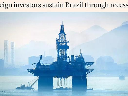 Liquidação de ativo sustenta economia brasileira em meio à recessão