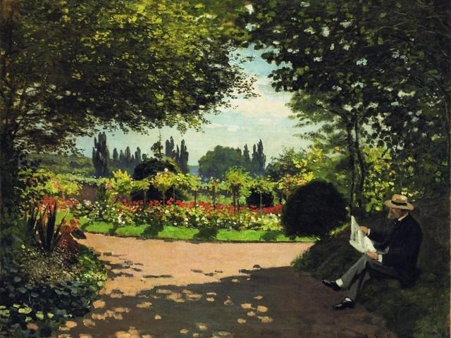 Imagem de leitura — Claude Monet