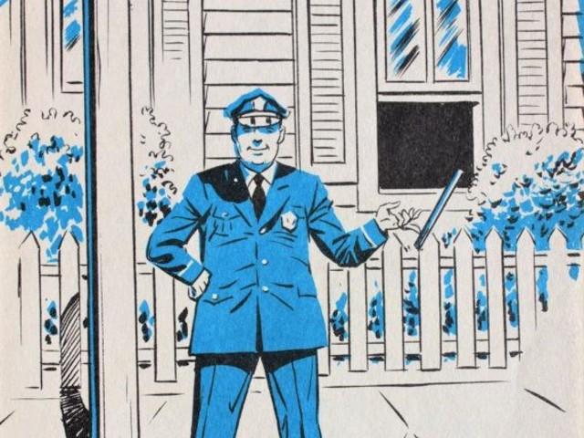 """""""A visita do policial"""", texto de Joanna Cannon"""