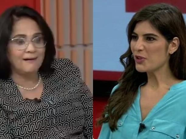 Jornalista da Globo deixa ministra de Bolsonaro com a cara no chão e afronta ao vivo