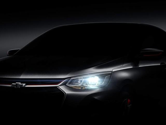 Novo Chevrolet Onix/Prisma 2020: primeira foto oficial