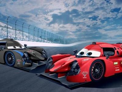 Equipe utilizará pintura de carros de animação da Pixar em disputa de protótipos