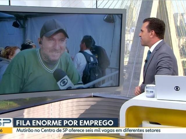 Rodrigo Bocardi manda recado emocionante a Catia Fonseca após atitude com homem que pediu emprego ao vivo na Globo