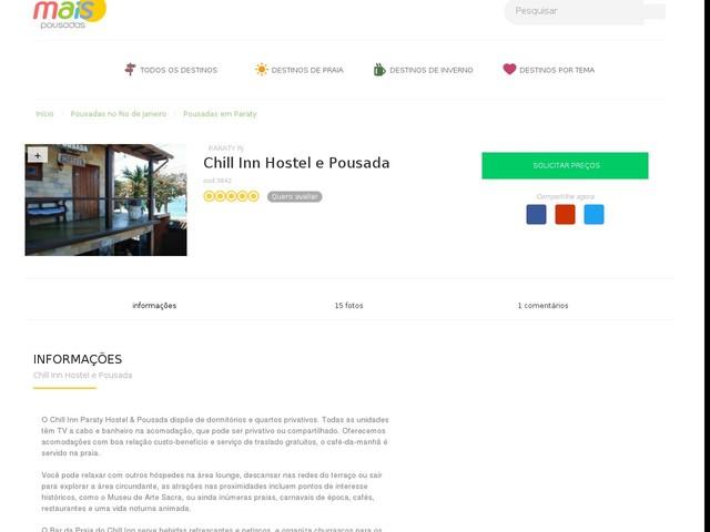 Chill Inn Hostel e Pousada - Paraty - RJ