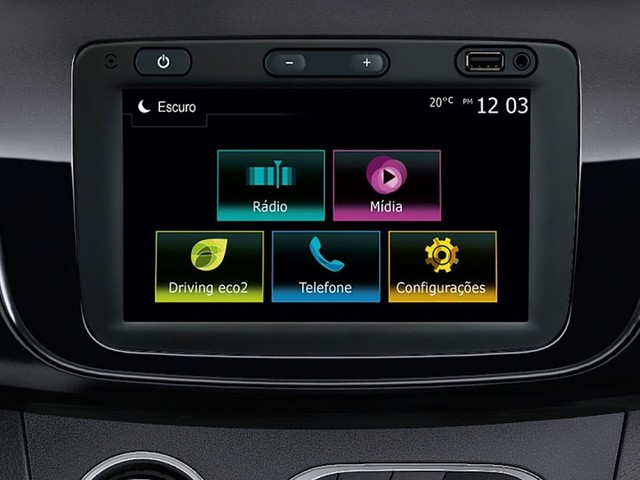 Renault Sandero, Logan e Duster 2020 têm central multimídia com Apple Carplay e Android Auto