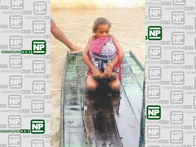O exemplo da menina que salvou livros da enchente