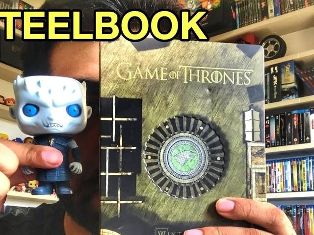 VÍDEO | Steelbooks BR de Game of Thrones