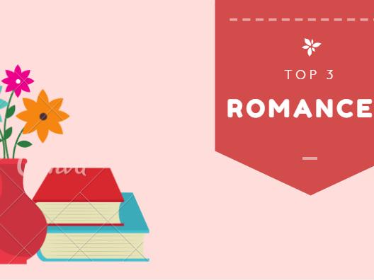 Top 3 romances para o dia dos namorados!