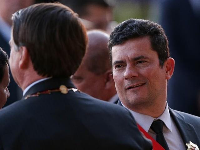 'Eu que indico, não o Moro', diz Bolsonaro sobre diretor-geral da PF