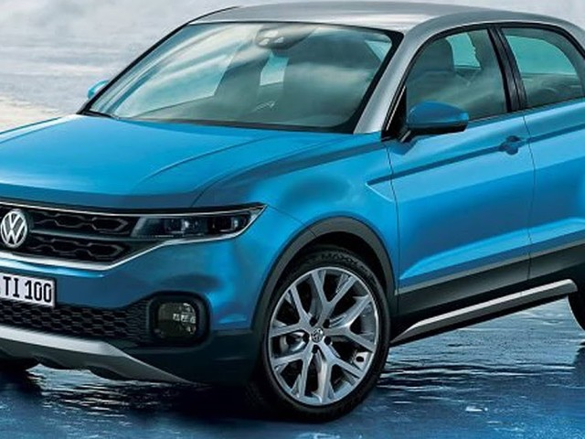 VW T-Cross, Polo SUV, será mostrado em novembro - Brasil