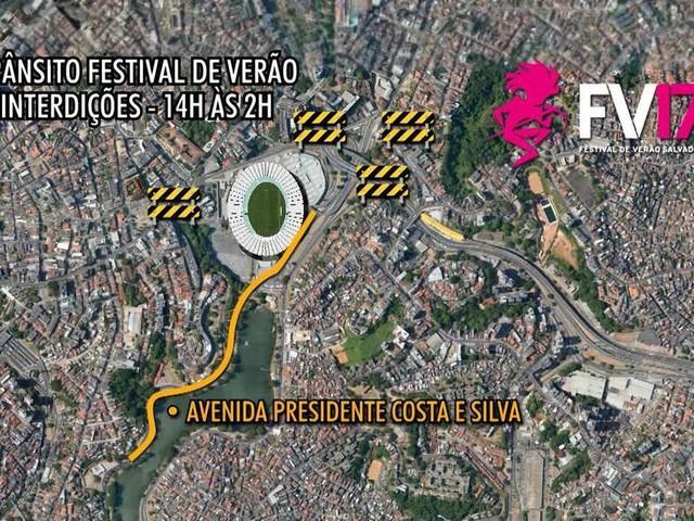 Esquema de transporte para o Festival de Verão terá 21 ônibus extras; veículos circulam até 4h da manhã