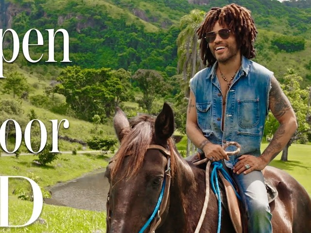 Come Have a Look at Lenny Kravitz's Mansion Outside of Rio