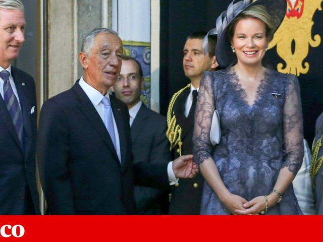 "Rei da Bélgica enaltece ""sentido de ser europeu"" de Portugal"