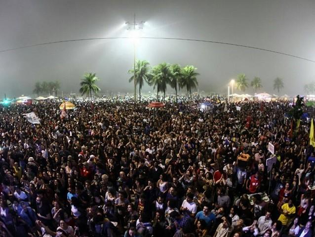 Copacabana e o grito de 150 mil pessoas por Diretas Já