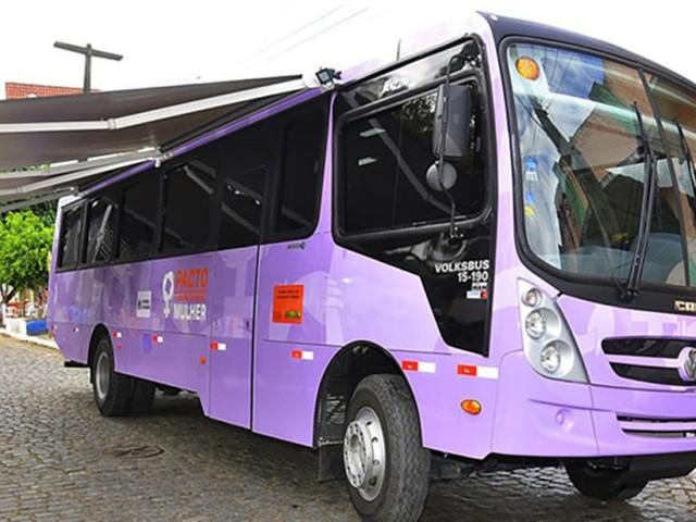 'Ônibus Lilás', para prevenção contra a violência contra a mulher, volta às ruas do RJ nesta quarta