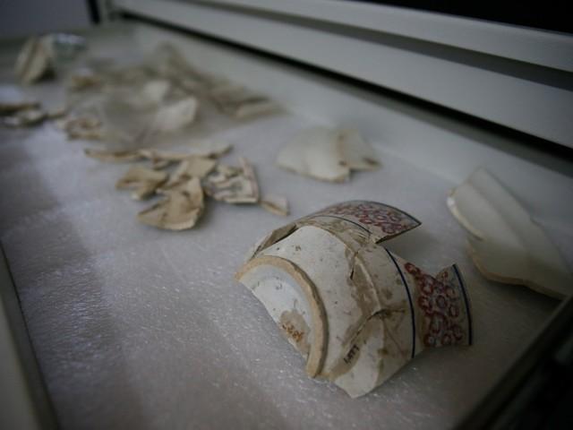 Apenas um dos quatro sítios arqueológicos da Grande Fortaleza tem materiais históricos em exposição