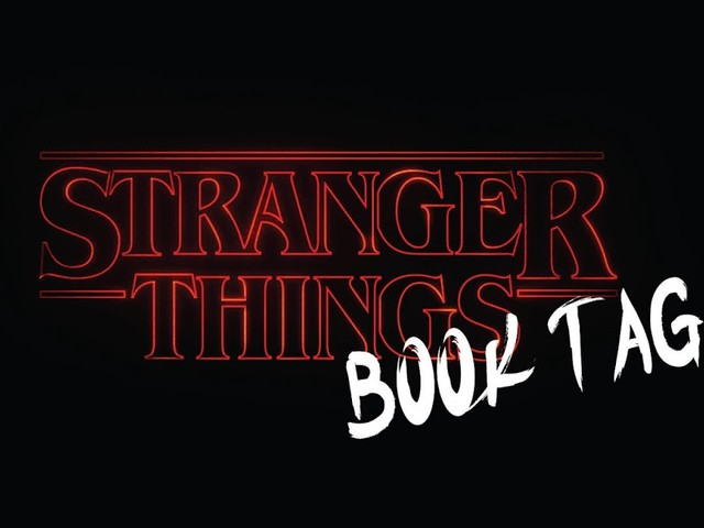 Stranger Things Book Tag
