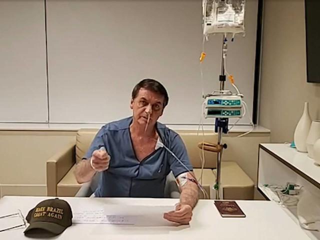 Internado em SP | Bolsonaro receberá alta hoje e voltará ao DF