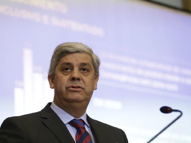 """Centeno destaca """"percurso inigualável"""" de Portugal que o levou a liderar Eurogrupo"""