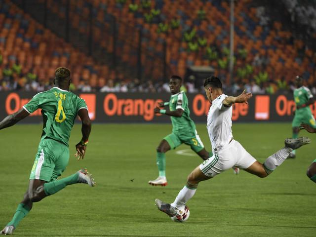 Confira fotos de Senegal x Argélia pela final da Copa Africana de Nações