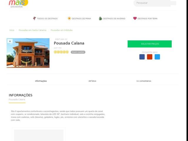 Calana Pousada - Imbituba - SC