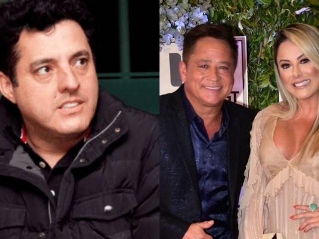 Bruno, após acusação de dar em cima da mulher de Leonardo, surge em foto rara ao lado esposa e filhos