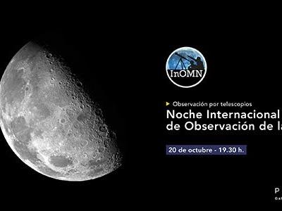 Noche Internacional de Observación de la Luna 2018
