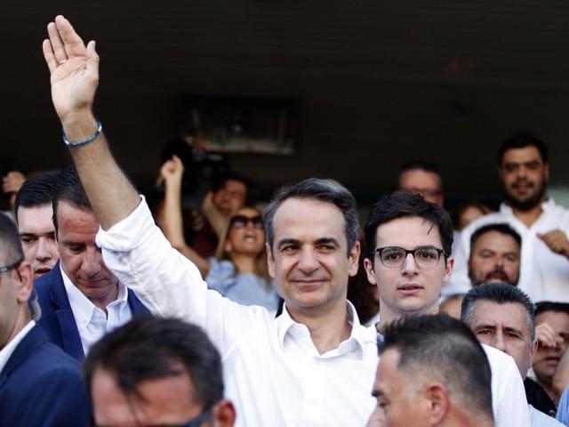 Konservative siegen in Griechenland