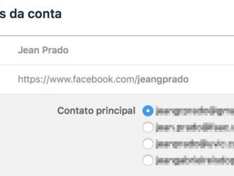 Como entrar no seu Facebook com outra conta de e-mail