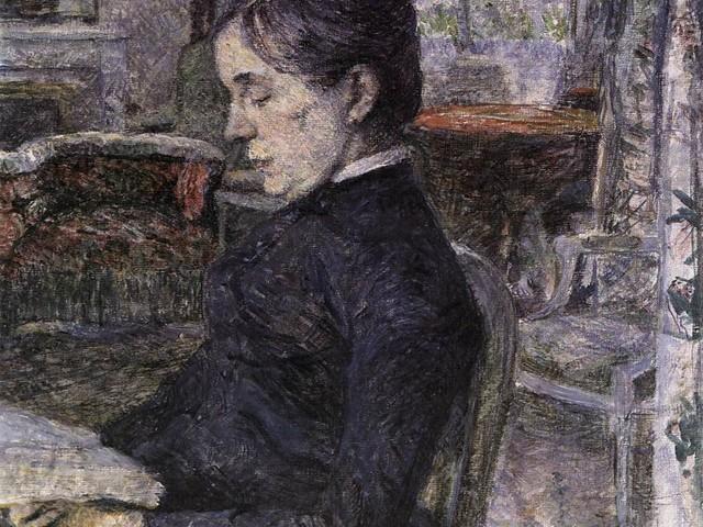 Imagem de leitura: Toulouse-Lautrec