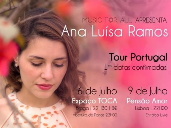Ana Luisa Ramos, uma voz de São Paulo que estreia em Portugal