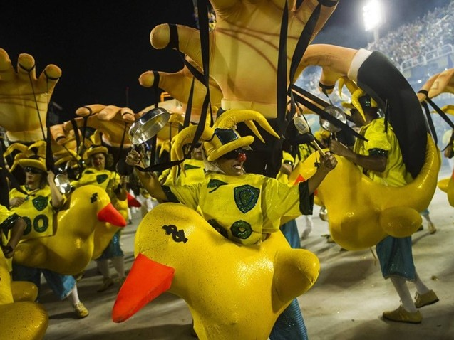 Paraíso do Tuiuti é o nome do carnaval 2018