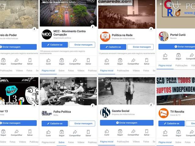 Facebook remove páginas pró-Bolsonaro por spam e identificação falsa