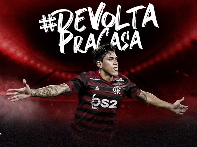 Atacante Pedro é anunciado pelo Flamengo