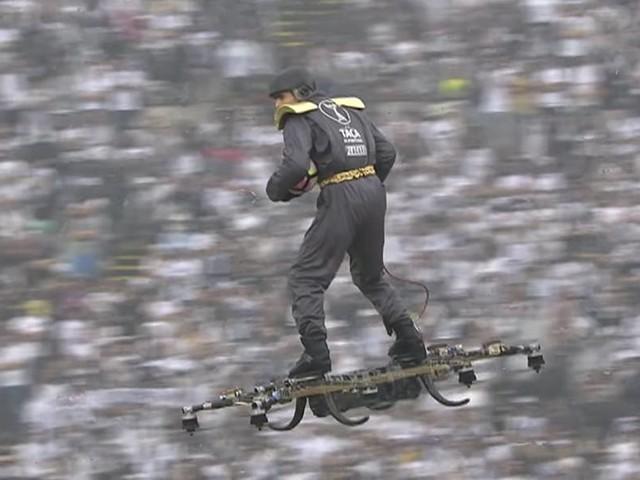 Copa de Portugal teve bola entregue por homem montado em drones