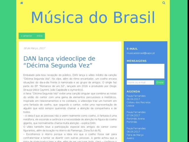"""DAN lança videoclipe de """"Décima Segunda Vez"""""""