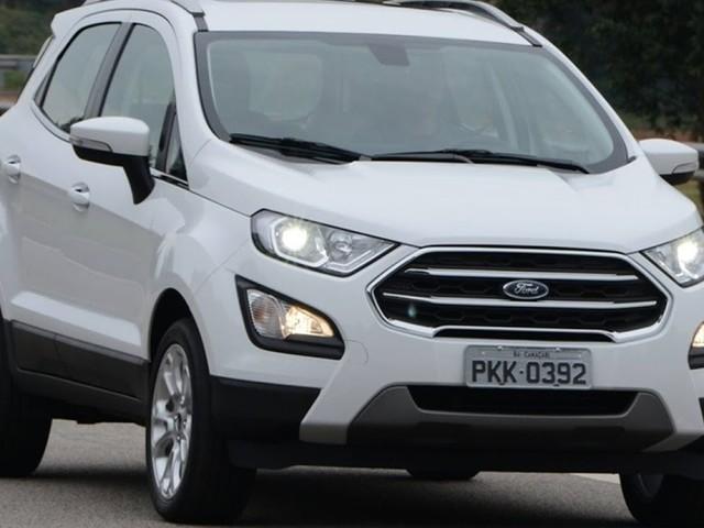 Novo Ford EcoSport 2018 Titanium: fotos e detalhes oficiais