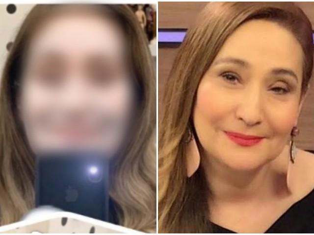 """Sonia Abrão surge com o rosto completamente diferente e brinca: """"Pra assustar os seguidores"""""""