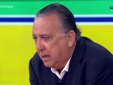 Em gravação de programa, Galvão Bueno relembra o passado e promove choradeira geral