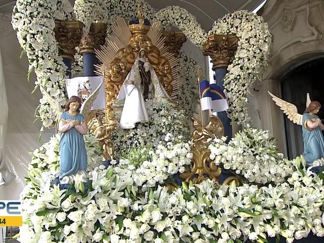 Festa de Nossa Senhora do Carmo, a padroeira do Recife; VÍDEOS