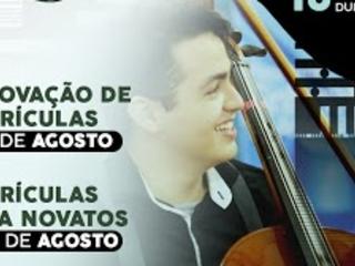 Escola de Música de Sobral anuncia data de matrículas para segundo semestre