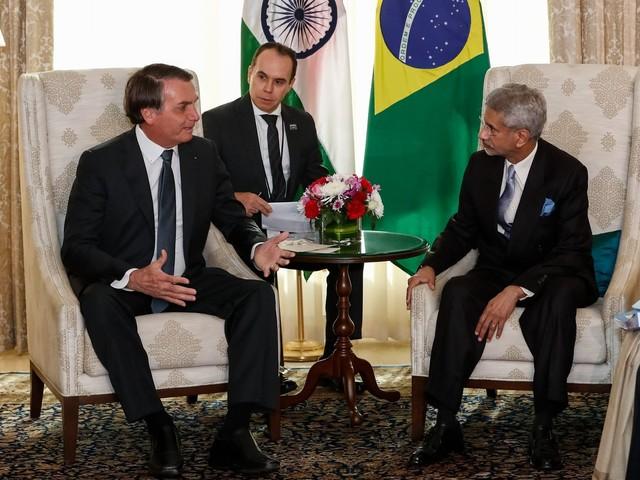 Brasil e Índia se comprometem a dobrar o comércio até 2022