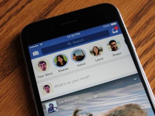 Facebook testa recurso para postar Stories diretamente pela web